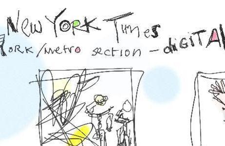 Drawing the random NYT
